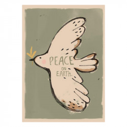 AFFICHE PEACE ON EARTH
