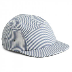 CASQUETTE RAYEE BLUE WAVE -...