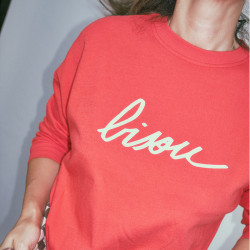 SWEAT BISOU ROUGE ADULTE...