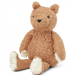 PELUCHE OURS TUSCANY ROSE-...