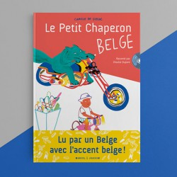 LIVRE-CD LE PETIT CHAPERON BELGE
