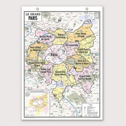 CARTE LE GRAND PARIS