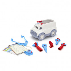 AMBULANCE ET KIT DE MEDECIN - GREEN TOYS
