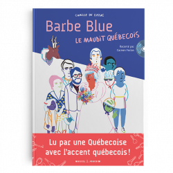 LIVRE-CD BARBE BLUE