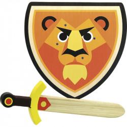 SET BOUCLIER ET EPEE LION - VILAC