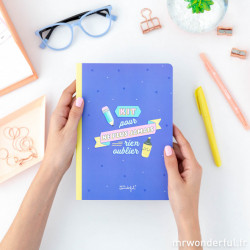 CARNET DE NOTES ADHESIVES ET D'AUTOCOLLANTS - MR WONDERFUL