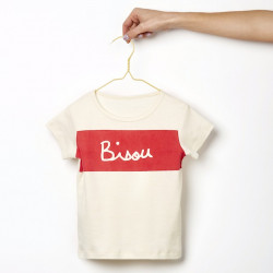 T SHIRT BISOU BIG -...