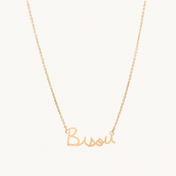 COLLIER BISOU - TITLEE X...