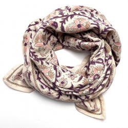 GRAND FOULARD LATIKA BIRD...
