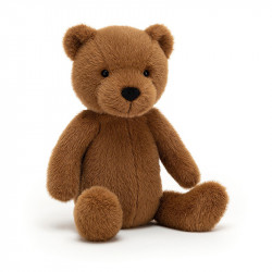 PELUCHE OURS CHOCOLAT -...