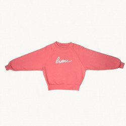 SWEAT BISOU ROUGE ADULTE -...