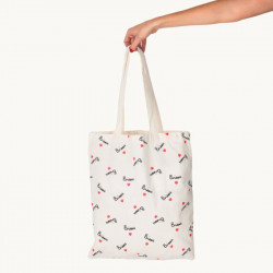 TOTE BAG BISOU - MATHILDE...
