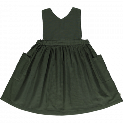 ROBE TABLIER FOREST GREEN -...