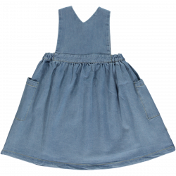ROBE TABLIER DENIM BLUE -...